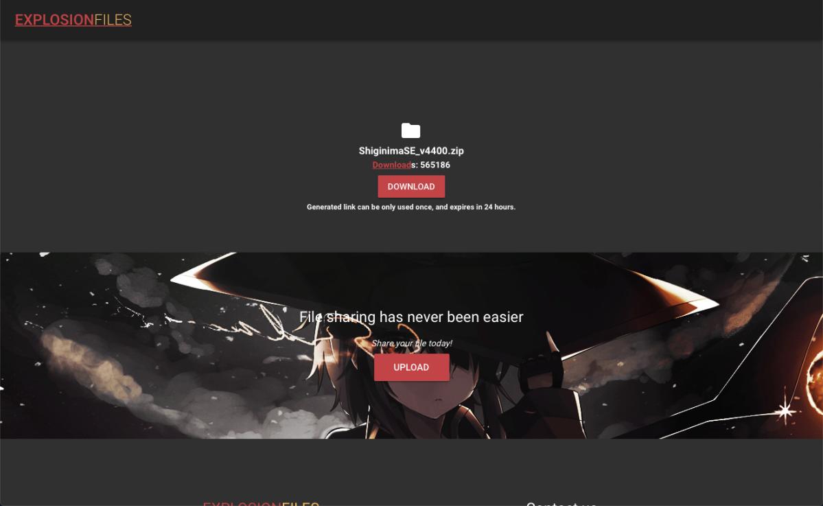 Immagine pagina da cui scaricare il launcher.